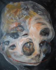 Acrylic on canvas, 50 x 40 cm