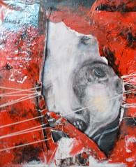 "Acrylic on canvas, 70 x 50 cm,2 Biennal de Arte Barcelona M.E.A.M Museum of Europian Art Modern 2017 Biennal de Arte Roma Italy 2017 ""Associazione Socio Culturale Ea Editore"" 2017"