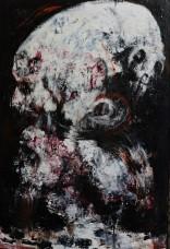 100 x 70 cm, Acrylic on canvas