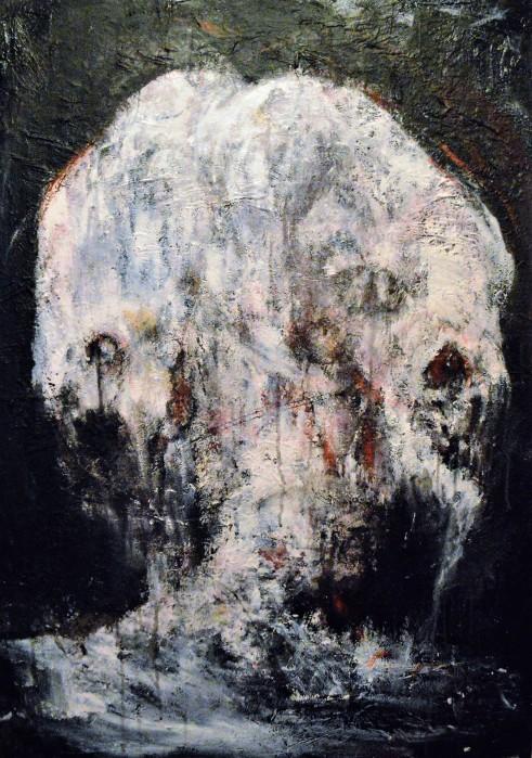 """Kreator"" 100 x 70 cm 2018 – Madlart, Malenijanum, Zemun, 48 Auction exibition http://www.madlart.com/sites/default/files/katalog_49_aukcije_internet.pdf"