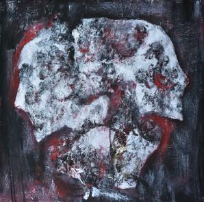 Akril na platnu, 2018, Blizanci, 50x50 cm